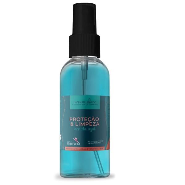 Incenso Líquido Arruda Azul Proteção & Limpeza 100ml