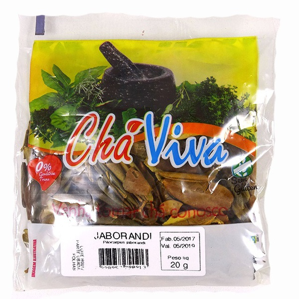 Jaborandi Chá Viva 20g