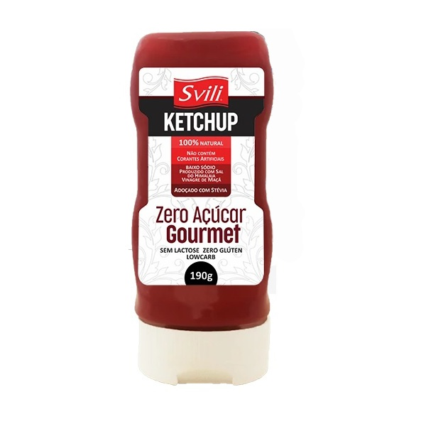 Ketchup Zero Gourmet 190g