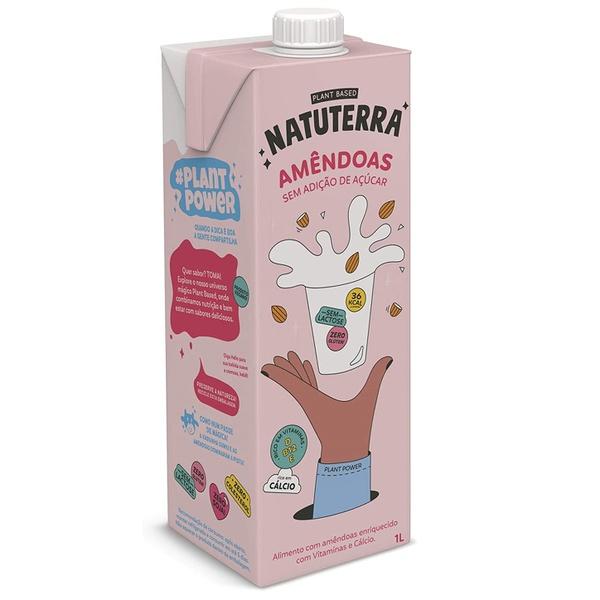 Bebida Leite de Amêndoas 1 litro