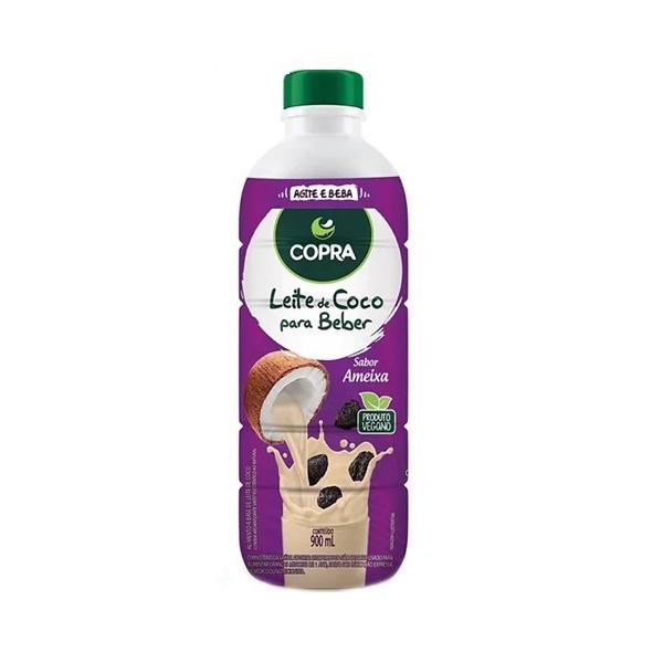 Leite de Coco Para Beber Sabor Ameixa Veg 900ml