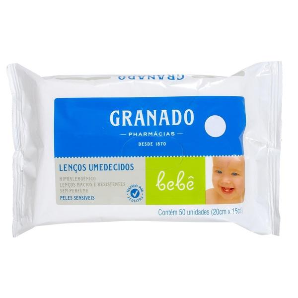 Lenços Umedecidos Bebê Peles Sensíveis 50 unidades 20cmx15cm