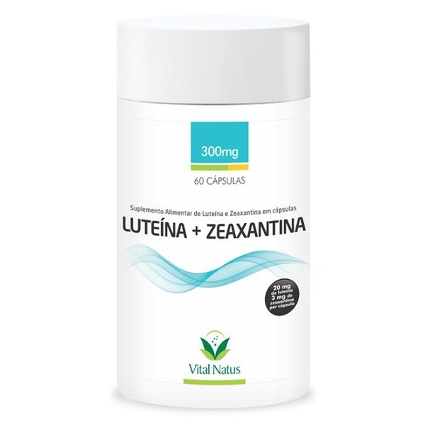 Luteína Zeaxantina 60 x 300mg