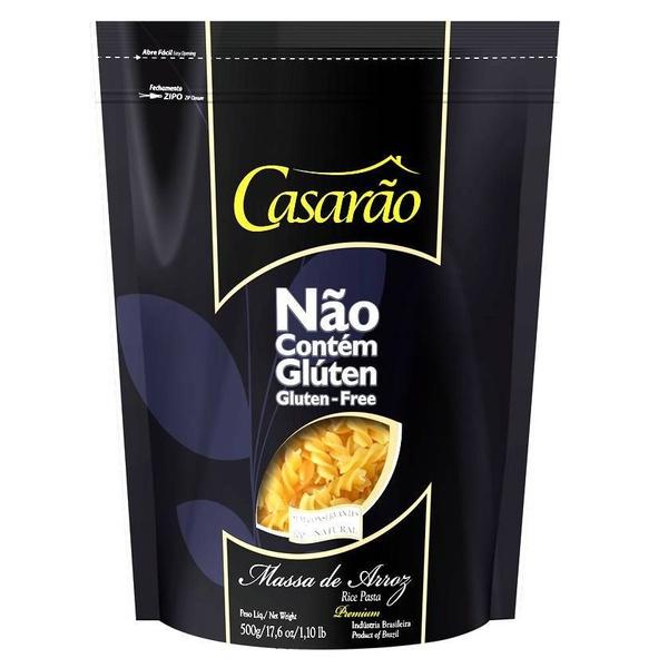 Macarrão de Arroz Fusilli Premium 500g