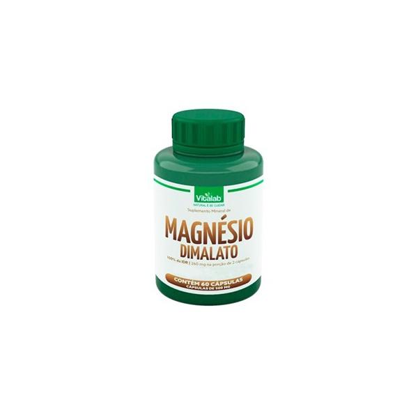 Magnésio Dimalato 60 cápsulas x 500mg