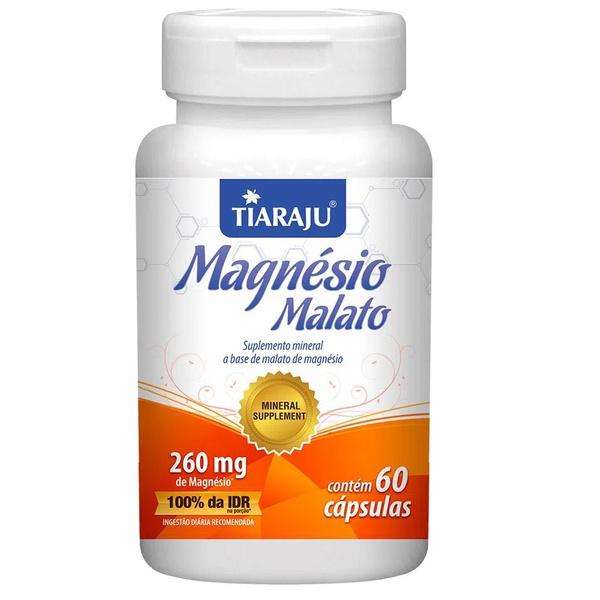 Magnésio Malato 60 cápsulas x 260mg