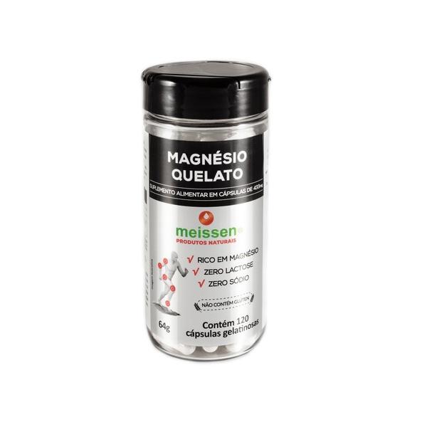 Magnésio Quelato 120 cápsulas x 433mg