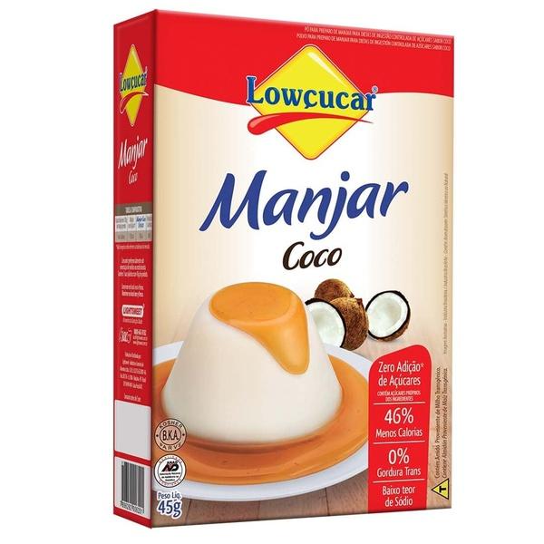 Manjar Coco Zero Açúcar 45g