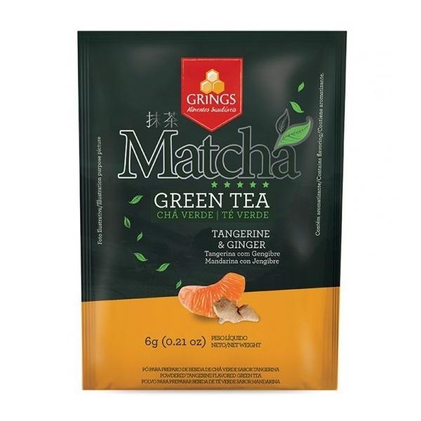 Matchá Green Tea Tangerina com Gengibre Zero 6g
