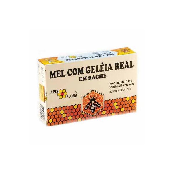 Mel Com Geléia Real Sachê Display 36x4g