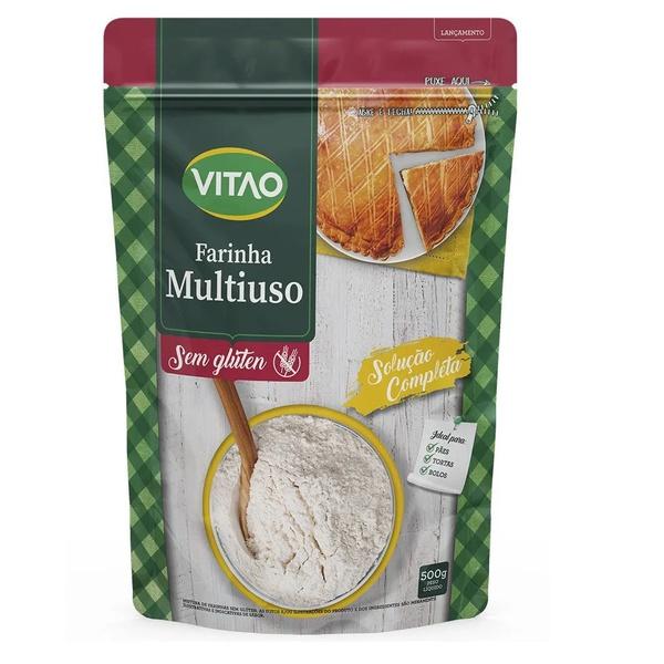 Farinha Mix Sem Glúten 500g