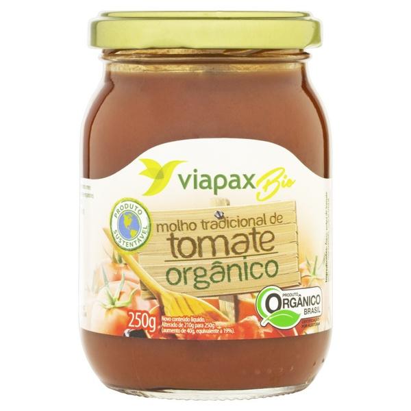 Molho de Tomate Tradicional Orgânico 250g