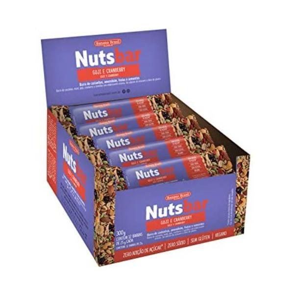 Nuts Bar Goji e Cranberry Display 12 x 25g