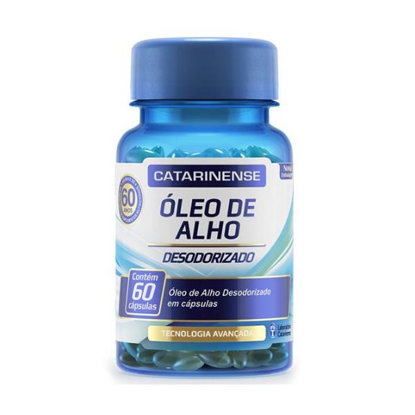 Óleo de Alho Desodorizado 60 Cápsulas