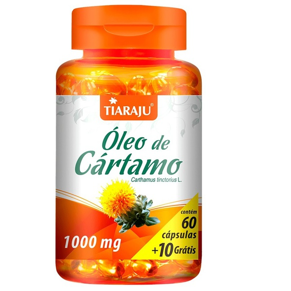 Óleo de Cártamo 60 caps x 1000 mg