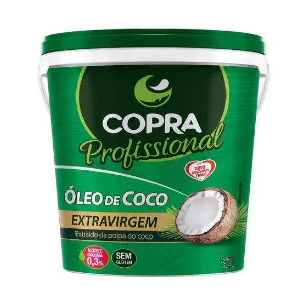 Óleo de Coco Extra Virgem 3,2L
