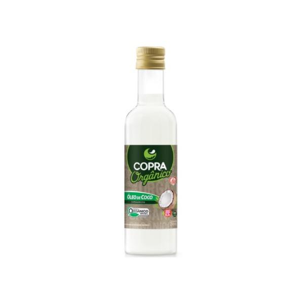 Óleo de Coco Extra Virgem Orgânico Garrafa 250ml