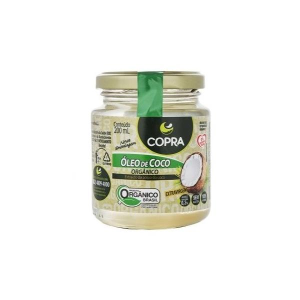 Óleo de Coco Extra Virgem Orgânico 200ml