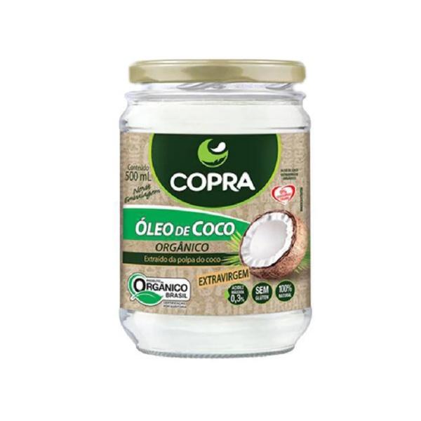 Óleo de Coco Extra Virgem Orgânico 500ml