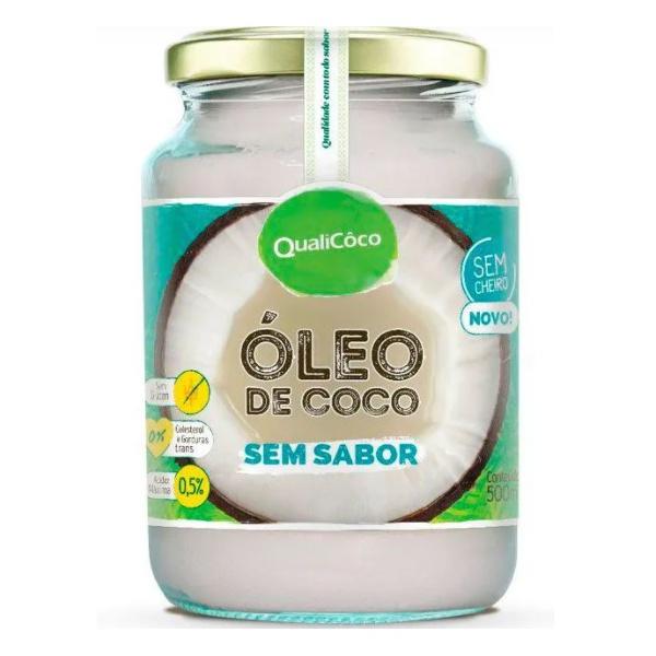 Óleo de Coco Sem Sabor 500ml