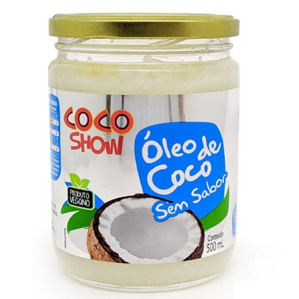 Óleo de Coco Sem Sabor Coco Show Veg 500ml