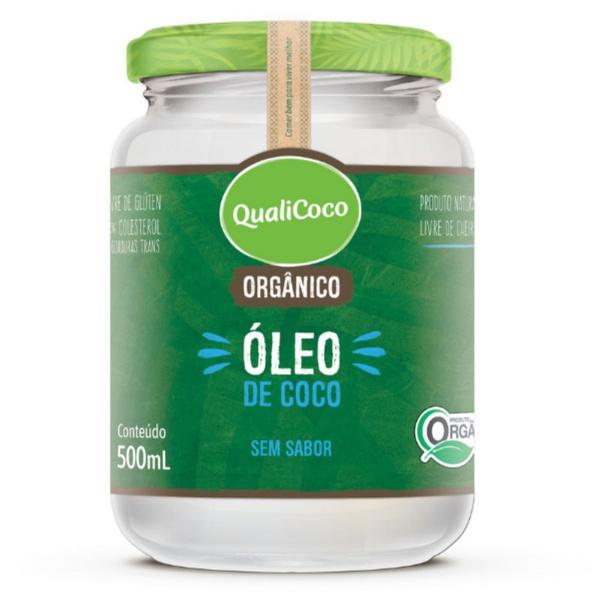 Óleo de Coco Sem Sabor Orgânico 500ml