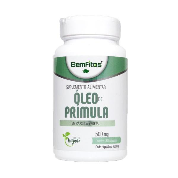 Óleo de Prímula Vegana 30 x 500mg