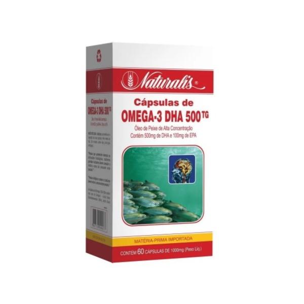 Omega-3 DHA 500 60 x 1000mg