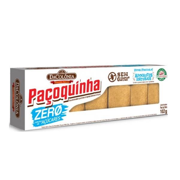 Paçoquinha Zero 102g