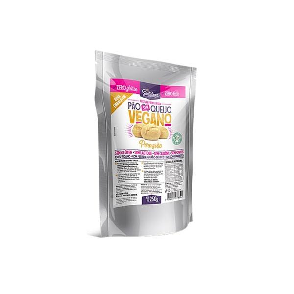 Mix Pão Sem Queijo Vegano Sabor Parmesão 250g
