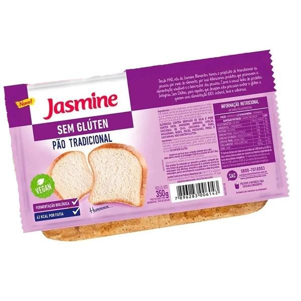 Pão Tradicional Sem Glúten Vegan 350g