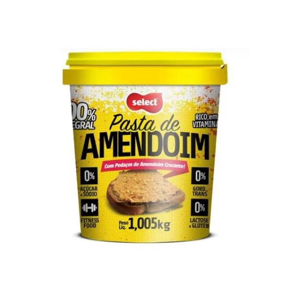 Pasta de Amendoim com Pedaços Crocantes 1,005kg