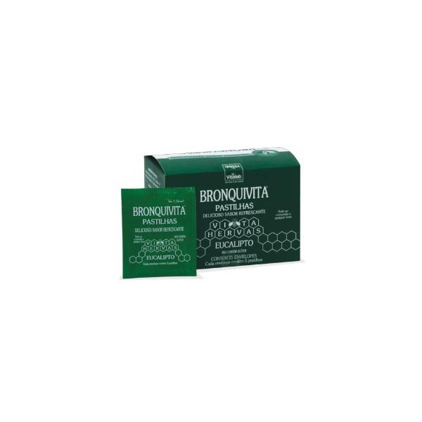 Pastilhas Bronquivita 25sachês x 5un