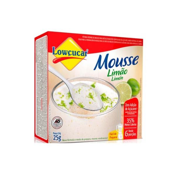 Mousse Limão Zero 25g