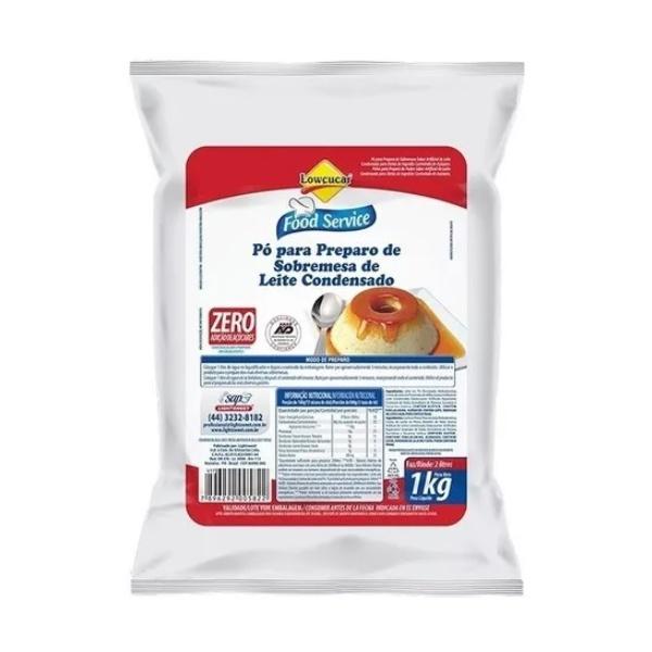 Pó Preparo Sobremesa de Leite Condensado Zero Açúcar 1kg