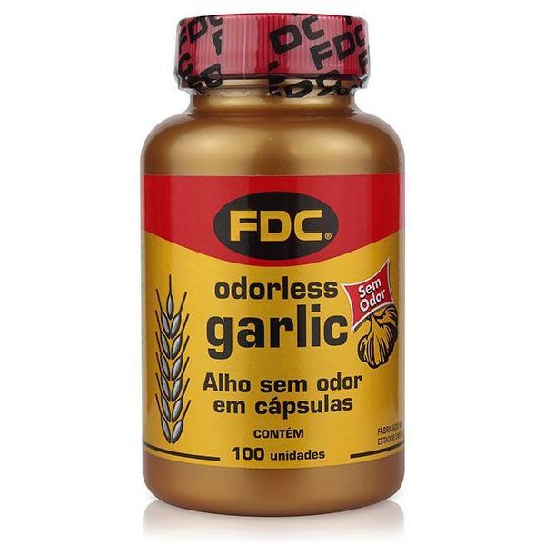 Óleo de Alho Sem Odor Garlic 100caps x 750mg