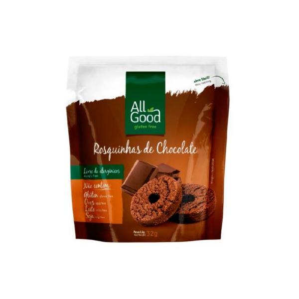 Rosquinhas de Chocolate All Goods Display 10x32g