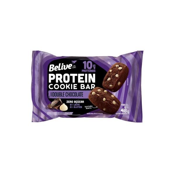 Protein Cookie Belive Double Chocolate Zero Display 10 x 48g