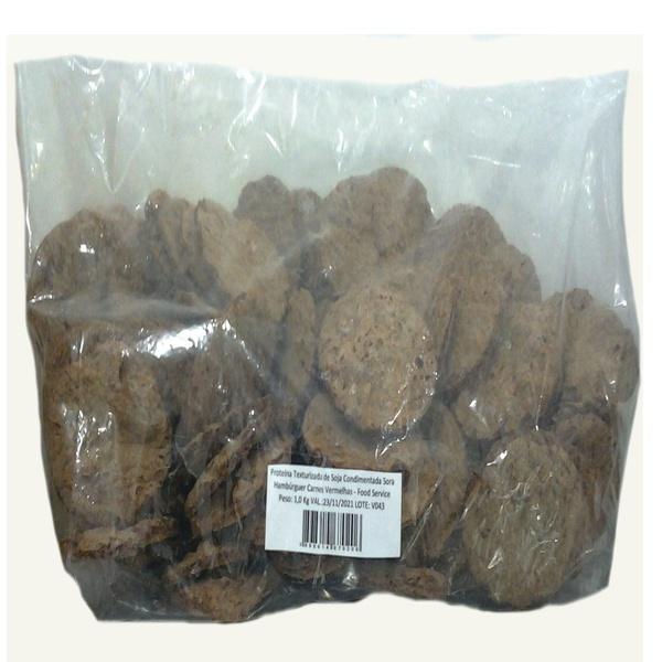Proteina de Soja Hambúrguer Carne Vermelha 1kg