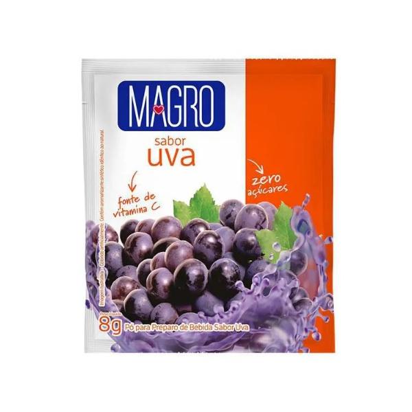 Refresco Magro Uva Zero 15un x 8g