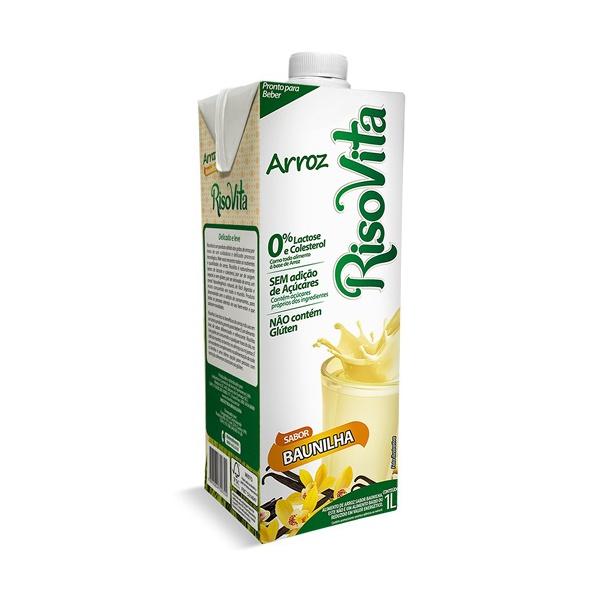 Bebida de Arroz Baunilha 1 litro - Risovita