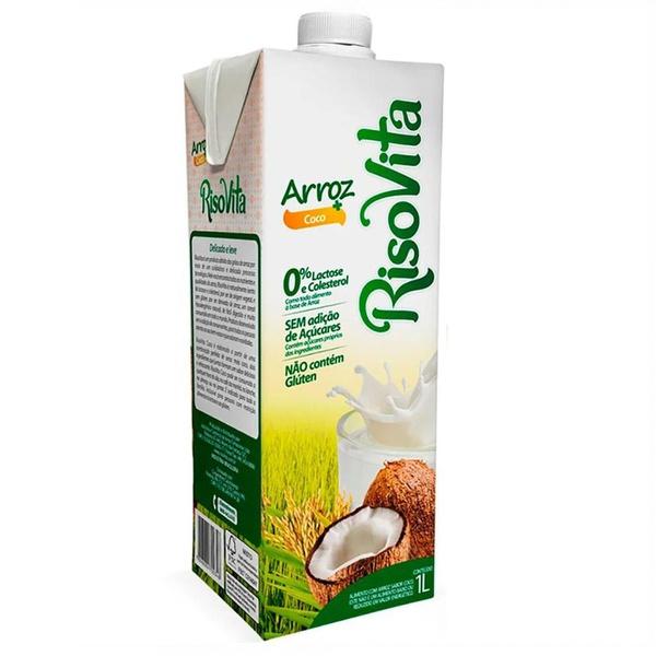 Bebida de Arroz com Coco 1 litro