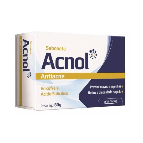 Sabonete Anti-Acne Acnol 80g