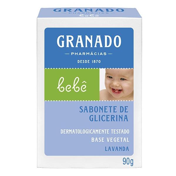 Sabonete Glicerina Bebê Lavanda 90g