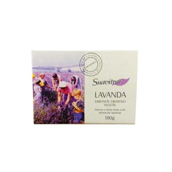 Sabonete Cremoso Vegetal Lavanda 100g