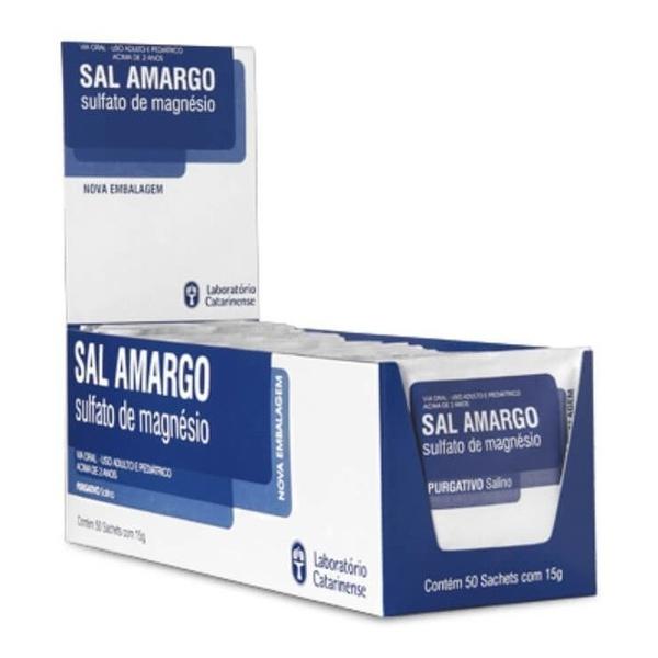 Sal Amargo 50 Sachês x 15g