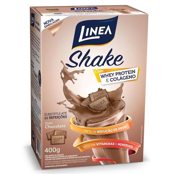 Shake Chocolate com Whey Protein e Colágeno Zero Açúcar 400g