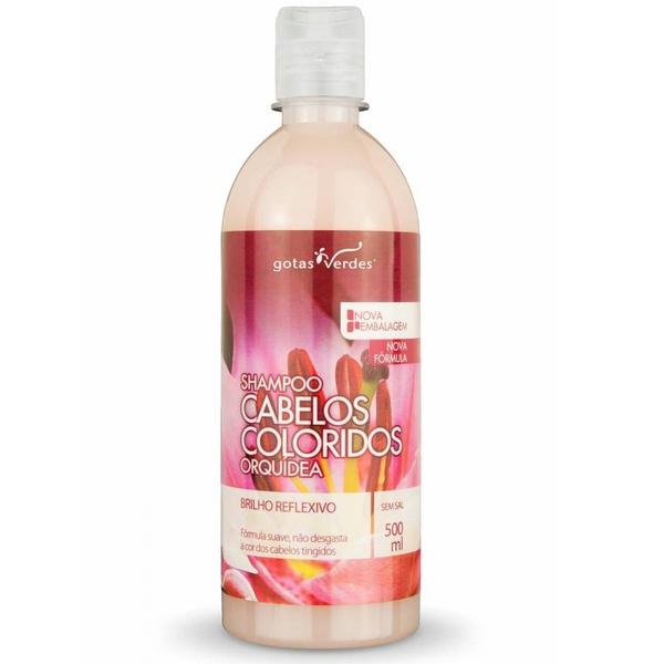 Shampoo Cabelos Coloridos Orquídea 500ml