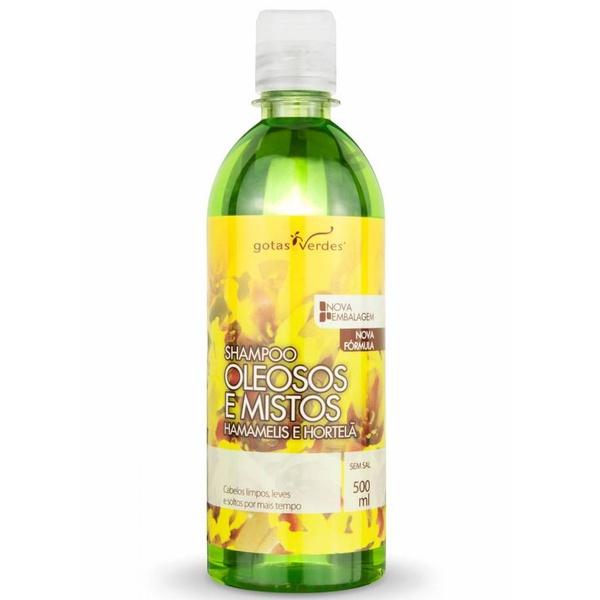 Shampoo Oleosos e Mistos Hamamélis e Hortelã 500ml