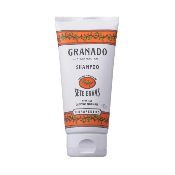 Shampoo Sete Ervas 180ml